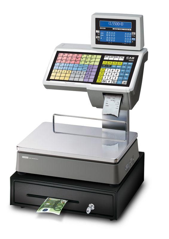 CL5500 | Preisrechnende Systemwaagen mit Drucker – Bild 5