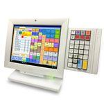 "01750266984 Wincor Nixdorf BA82 weiß Multifunktionaler 12.1"" LED TFT Touchmonitor"