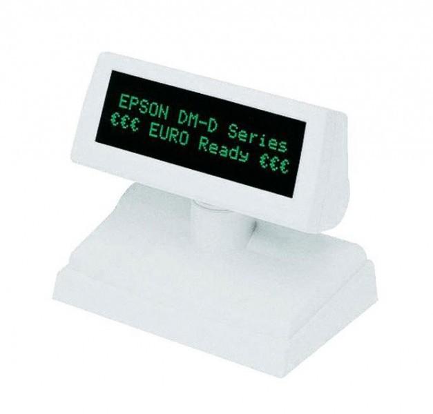 A61B133111 Epson Display DM-D110 DM-D110-111 Seriell Kundenanzeige (weiß)