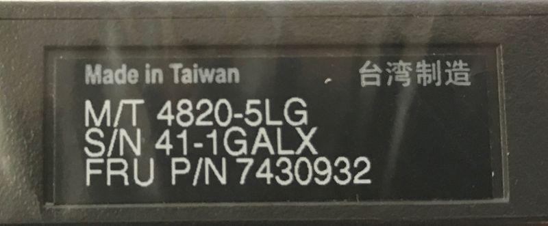 7430932 TOSHIBA Touchmonitor 4820-5LG (15 Zoll/PoweredUSB) 38cm Kassenmonitor – Bild 3
