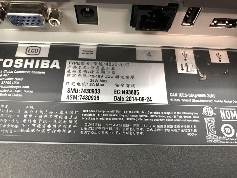 7430932 TOSHIBA Touch Panel 4820-5LG (15 inch / PoweredUSB) used – Bild 4
