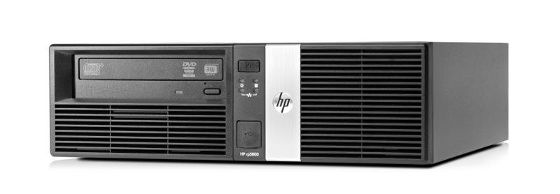 B5C88EA#ABU HP rp5800 i5-2400 Schwarz POS-Terminal – Bild 2