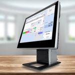 All-In-One Kassensystem Czar J9100 mit Einzelhandel WaWi-Profi Kassensoftware  001