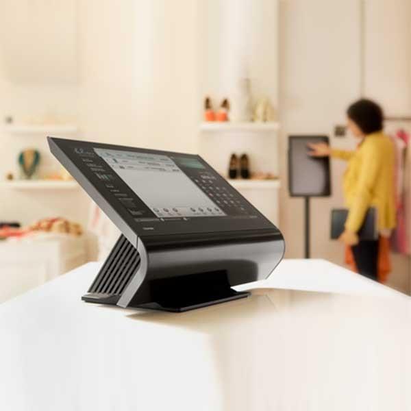 All-In-One Toshiba 6140-E20 TCxWave i3 Prozessor Kassensystem mit Bonosoft Kassensoftware für den Einzelhandel