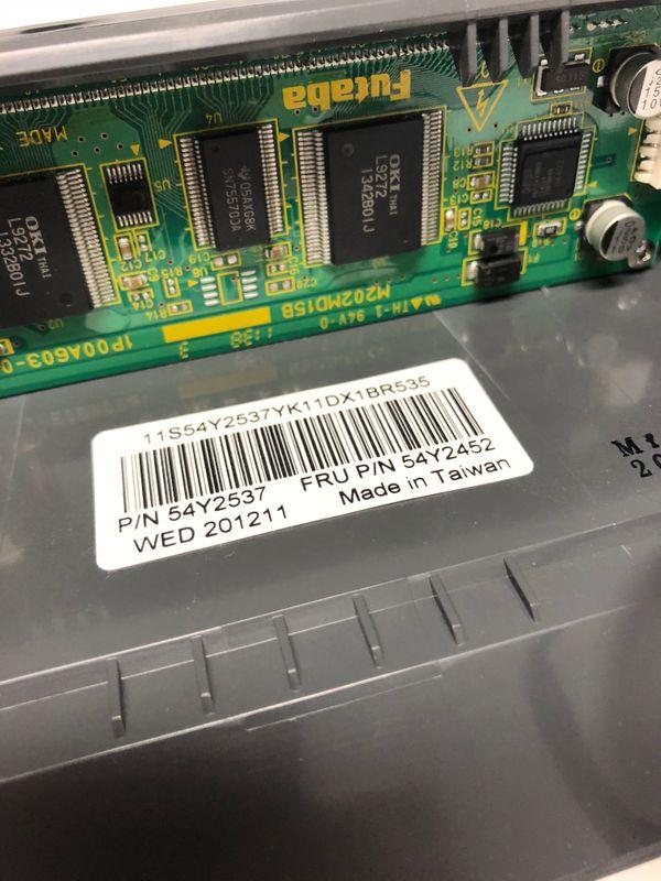 54Y2537 integrierte Kundenanzeige füIBM SurePos 500 4852-566 / E66 – Bild 3