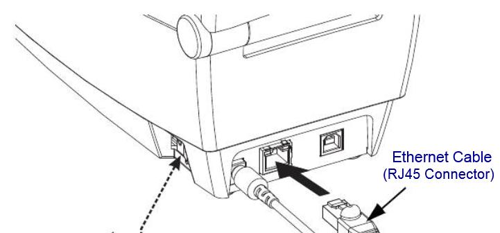 282P-201520-000 Zebra LP 2824 Plus Thermodirekt Etikettendrucker USB + LAN – Bild 2