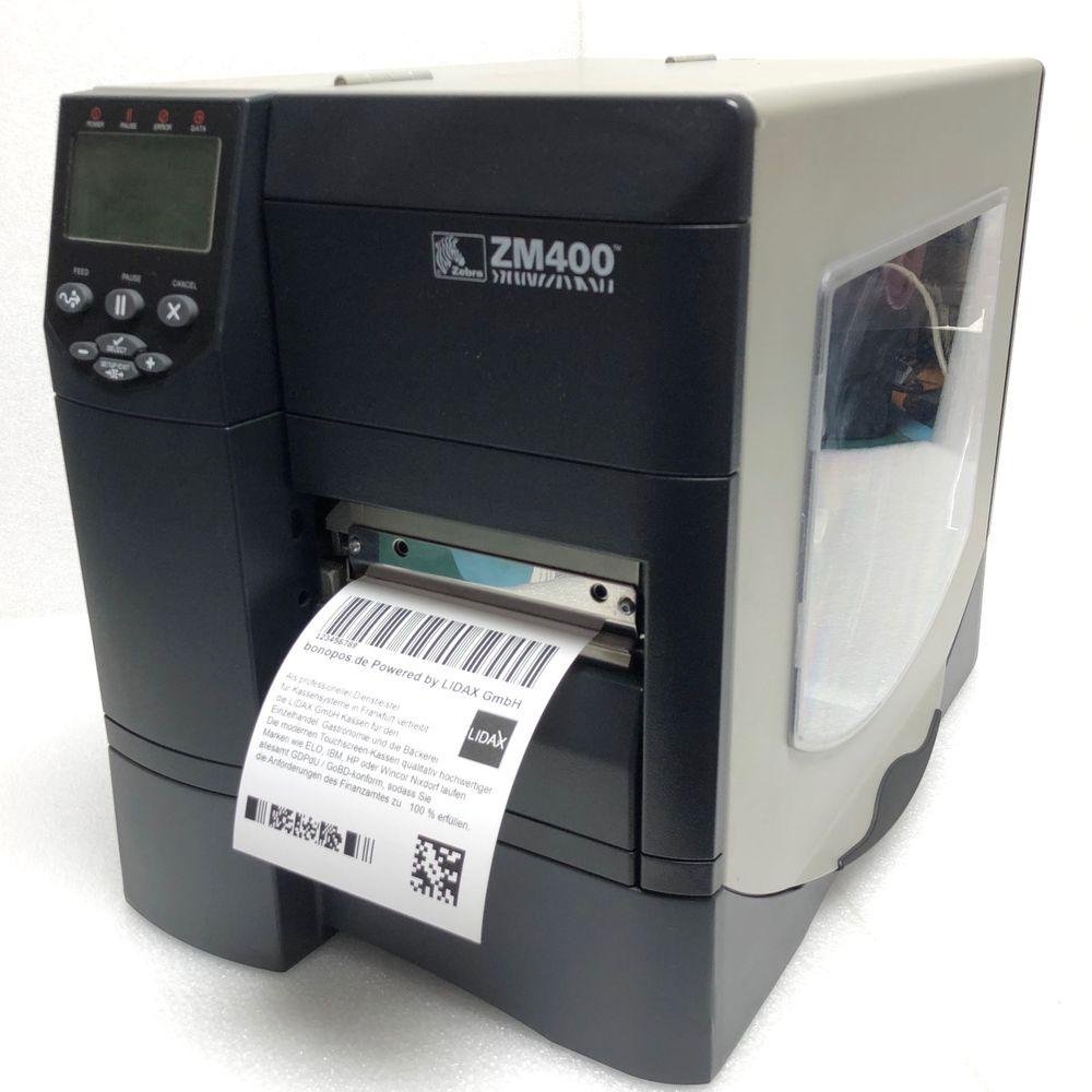 ZM400-200E-0000T Zebra ZM400 Label Printer USB Seriell Parallel