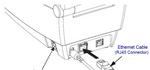 282P-201520-000 Zebra LP 2824 Plus Thermodirekt Etikettendrucker USB + LAN Bild 2