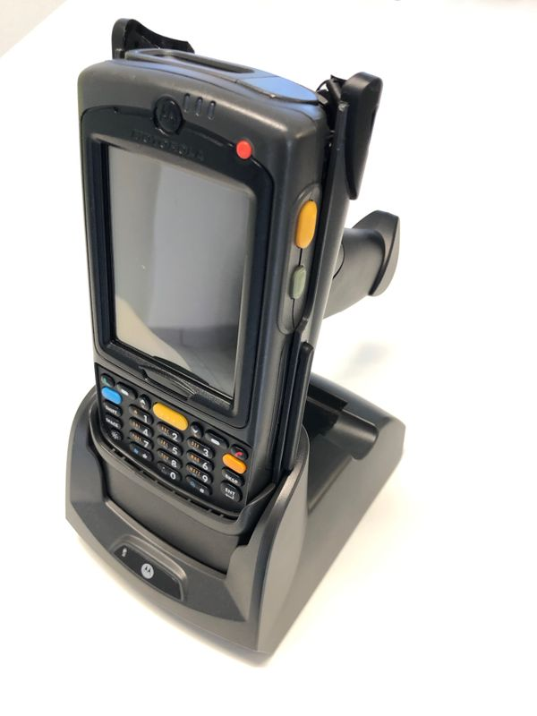 Motorola MC70 MC7090 Mobile Computer MDE with Trigger and Cradle MC75A0-P30SWRQA9WR – Bild 3