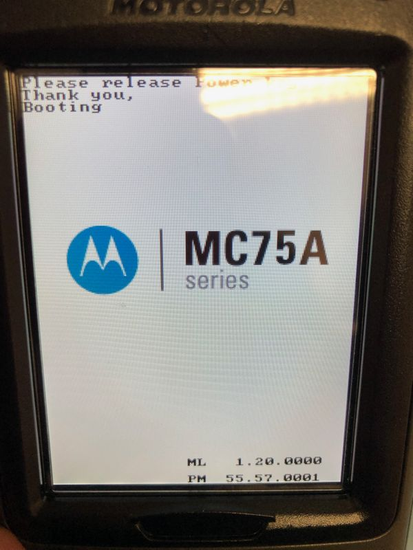 Motorola MC70 MC7090 Mobile Computer MDE with Trigger and Cradle MC75A0-P30SWRQA9WR – Bild 8