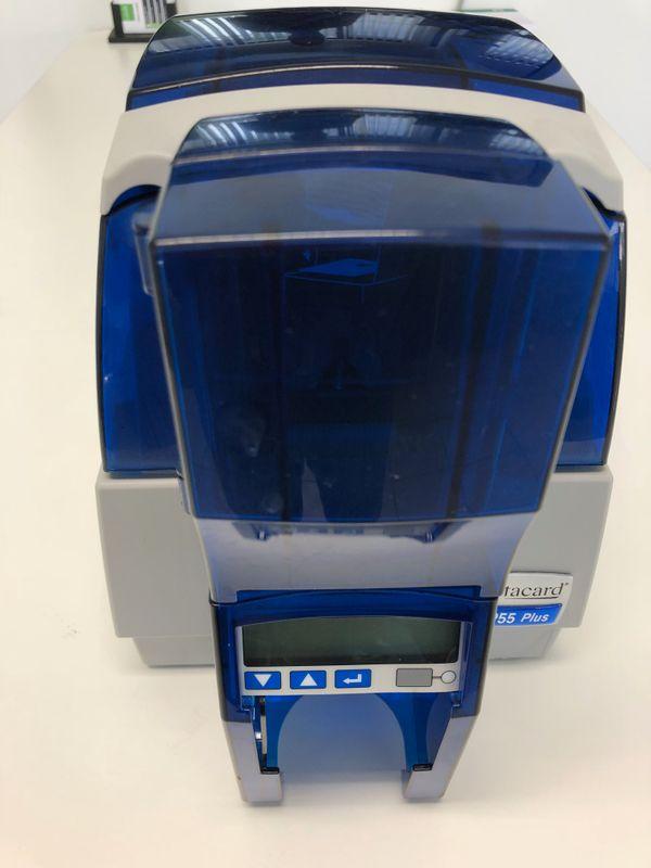Kartendrucker Datacard SP55 Plus USB + LAN / Ethernet Inklusive Farbband und Plastikkarten SP55CH1NET – Bild 3
