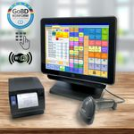 ELO X3-15 All-In-One Kassensystem Core i3 3.10 GHz Windows 7 mit Bonosoft Kassensoftware