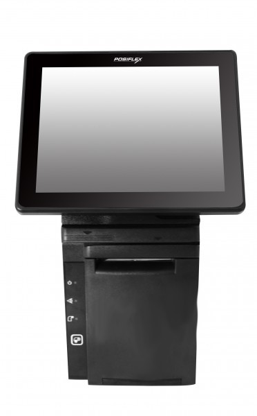 "Posiflex HS-3510W-B All-in-One Touch 12"" Projected Capacitive Touch-Monitor POS System - fanless – Bild 2"