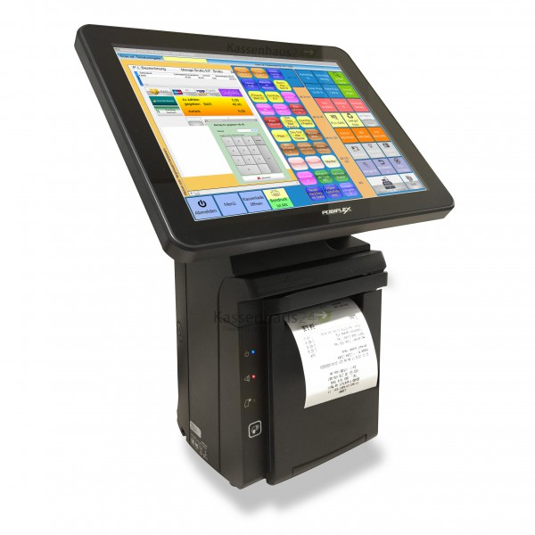 "Posiflex HS-3510W-B All-in-One Touch 12"" Projected Capacitive Touch-Monitor POS System - fanless – Bild 1"