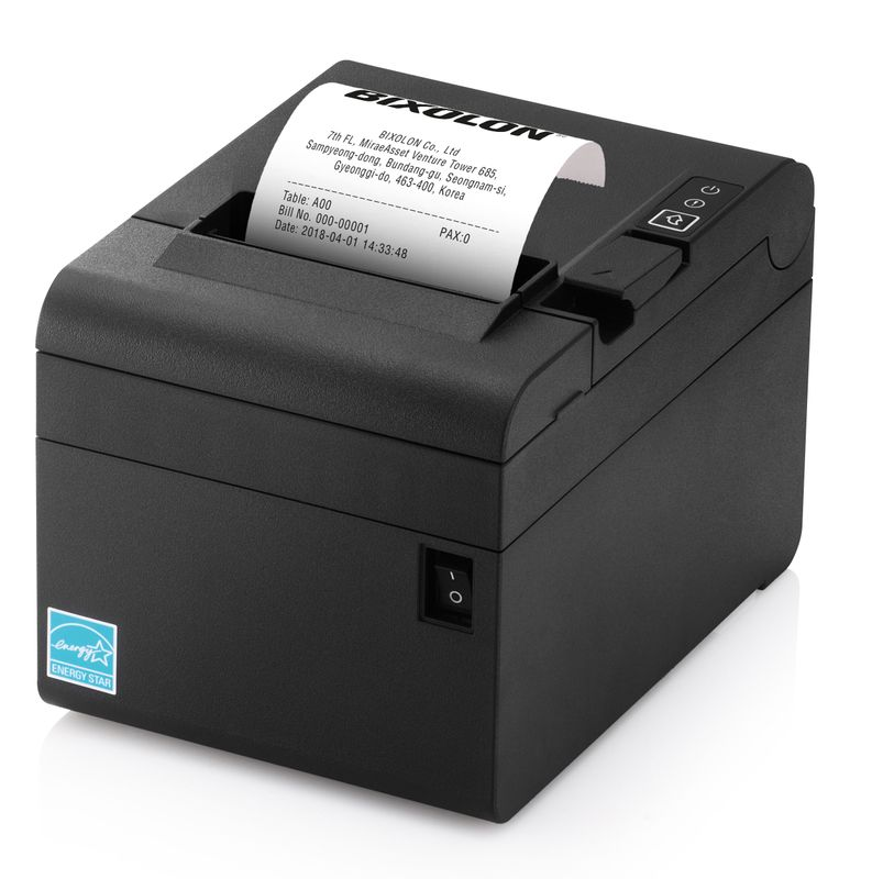 Bixolon SRP-E300 Thermo Bondrucker schwarz  POS DT 180dpi USB mit Autoschneider