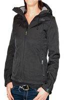Urban Surface by 98-86 Ladies Softshell Jacke mit Kapuze innen Fleece