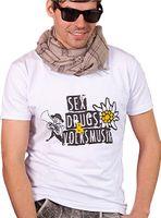 Herren Trachten Shirt MarJo Sex, Drugs und Volksmusik von Hangowear