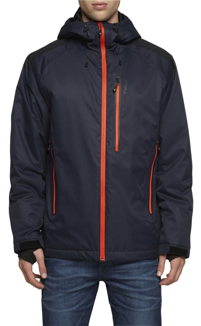 Jack & Jones Tech Nusco 2Layer Jacket Regenjacke Snowboardjacke mit Schneefang