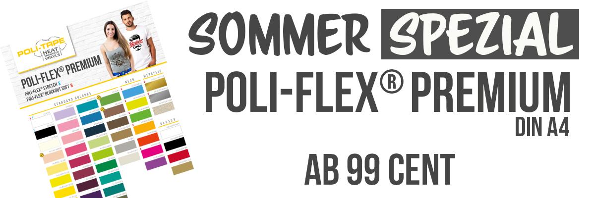 POLI-FLEX PREMIUM Flexfolie - Formatware A4