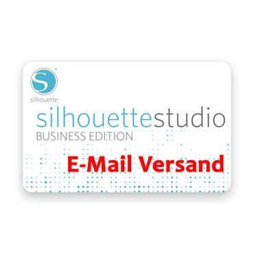 Lizenzcode für Silhouette Studio Business Edition