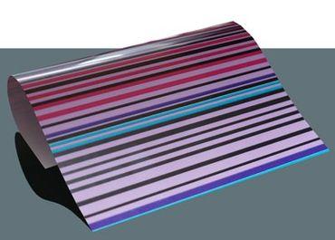 Streifenmuster Bügelfolie A4