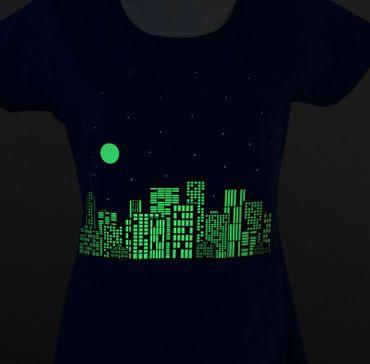 GlowFlex Bügelfolie Glow in the Dark A4 – Bild 3