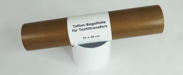 25 x 40 cm Dauer Teflon-Bügelfolie für Textiltransfer