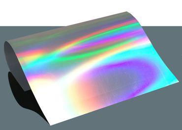 Hologramm Flex Bügelfolie Effekt Spectrum A4