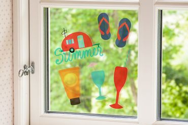 Bedruckbares Window Cling Material - transparent – Bild 2