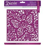 Lace Butterfly Stanzschablone 001