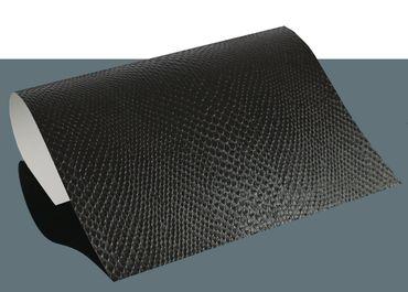 Selbstklebende Vinylfolie Schlangenleder Optik 21 x 29,7 cm – Bild 4