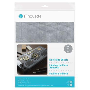 Duct-Tape - Panzerband grau 5 Blatt 21,5 x 28cm