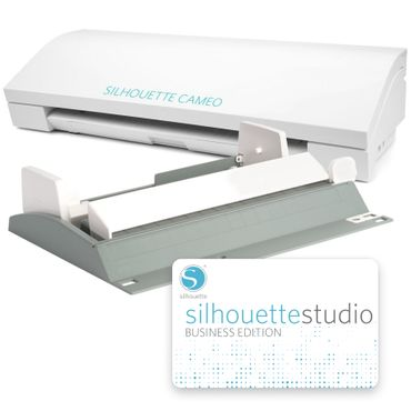 Silhouette Cameo + Roll-Feeder + Business Edition – Bild 1