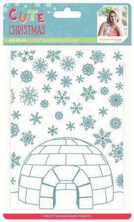 Prägeschablone - Icy Igloo