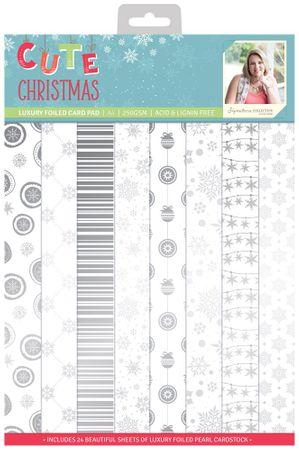 Cute Christmas - A4 Luxury Folierter Block