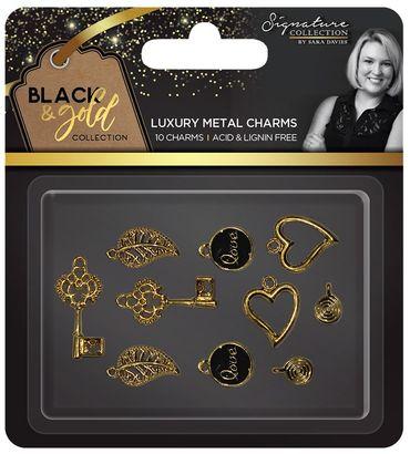Metall-Charms 10 Teile