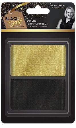 Shimmer Schleifenband 5,08 cm (2pk) – Bild 1