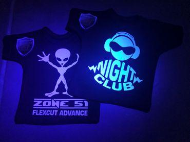 """Flexfolie """"Night Club"""" 21 x 29,7 cm"""