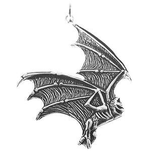 Fledermaus Schmuck: Vampir Gothic Anhänger