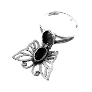Schmetterling Gift Ring Silber Giftring – Bild 2