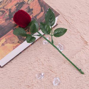 "Ring-Etui ""Rose"" Ringbox / Schmuck-Schachtel / Schmucketui – Bild 3"