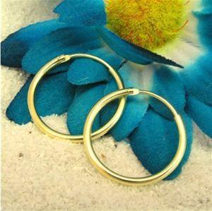 Creolen: Schmuck Ohrringe aus Gold (19 mm; 1,5 mm)
