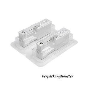 Medizinische Ohrstecker / Ohrloch stechen / Ohrringe Zirkonia Studex System 75 – Bild 2