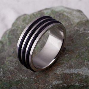 Herren Ring: Edelstahl Ring für Männer