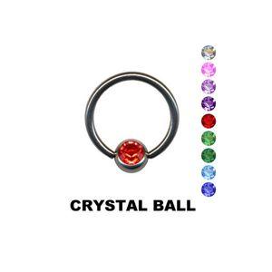 BCR Klemmkugel Ring: Lippenbändchen Klemmring Piercing
