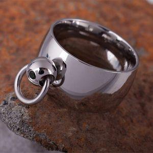 The Story of O: Stahl Ring der O schwarz von et Nox