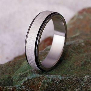 Partnerring / Freundschaftsring: Edelstahl Ring
