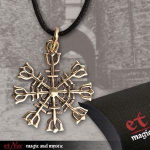 "etNox Anhänger Bronze ""Eagershelm"""
