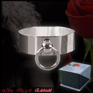 "etNox ""Story of O"" Ring mit Ring aus Edelstahl"