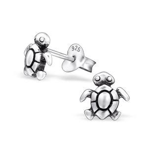 Ohrstecker Silber Baby Schildkröte klein